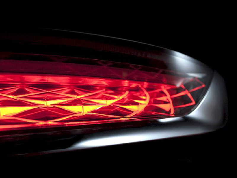 al automotive lighting by automotive lighting reutlingen another eye catcher the all led lamp of ds7 739