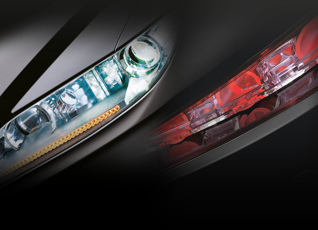 Frontlighting and Rearlighting by Automotive Lighting