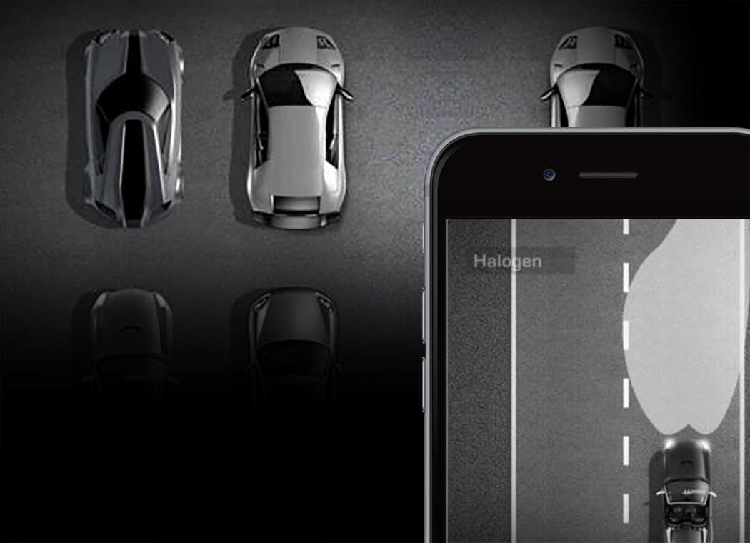Get the new App by Automotive Lighting