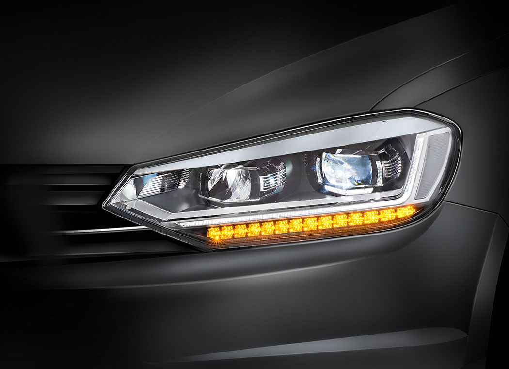 Integrated Partial High Beam by Automotive Lighting