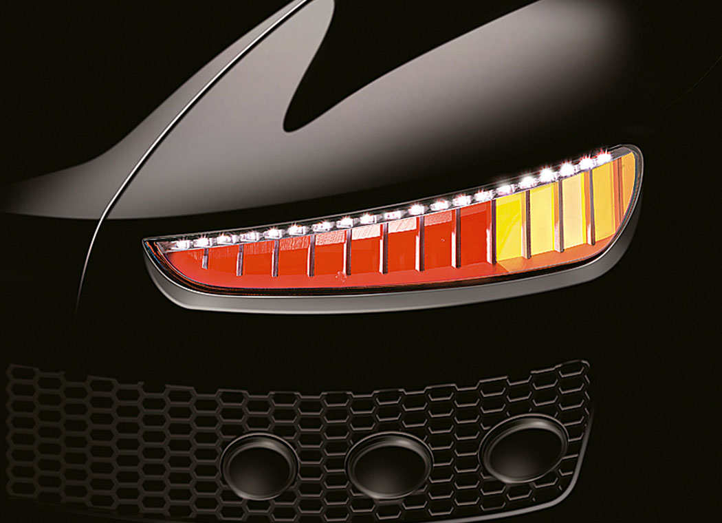 OLED Prototype by Automotive Lighting